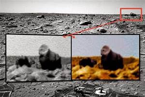 Hybrid Hominoid caught by Mars Rover Spirit proves that ...