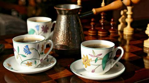 Any bean sent outside the empire was boiled so it could not be planted. Russia adopts coffee-drinking from Ottoman Empire