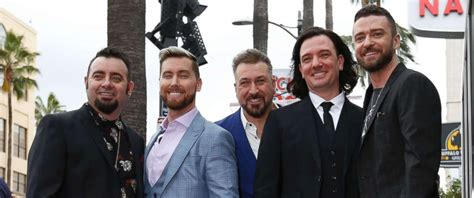 Nsync Reunites For The 1st Time In 5 Years For Hollywood