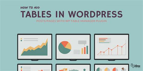 insert tables  wordpress  wp table manager plugin