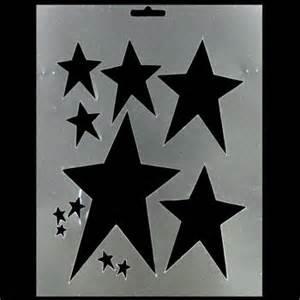 Primitive Star Stencil