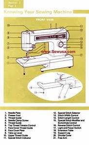 Kenmore Model 1341 Sewing Machine Instruction Manual