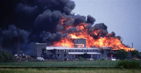 david koresh waco cult showdown ends  disaster