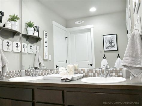 Neutral Bathroom Decor bathroom decor whiteaker