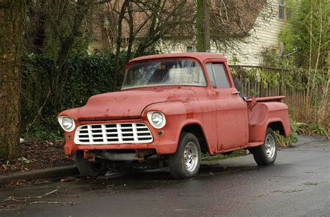 Old Parked Cars Chevy Stepside Pickup
