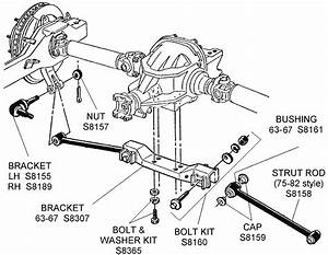 Strut Rod And Related - Diagram View