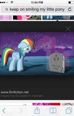 pony fan fic pinkies death sad wattpad