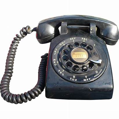 Western Electric Rotary Telephone 1958 Lane Ruby
