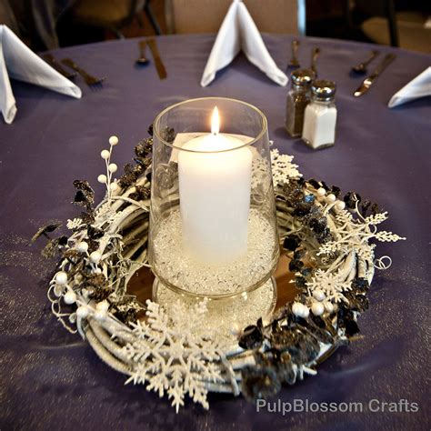 winter wedding centerpieces ideas  pinterest