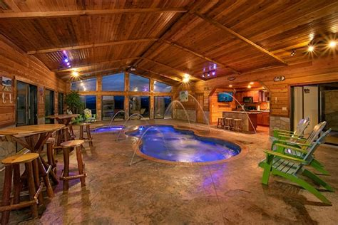 smoky mountain cabins with indoor pools 7 top gatlinburg cabins with indoor pools book