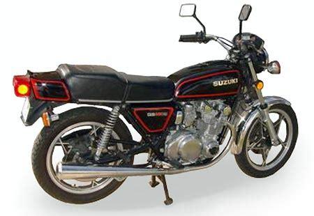 1981 Suzuki Gs550 by Suzuki Gs550 Model History