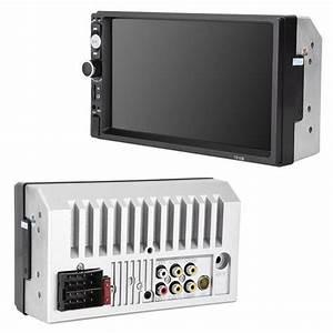 2 Din Car Audio Stereo Radio 7010b Multimedia Player 7 Inch Hd Mp5 Touch Screen Digital Display