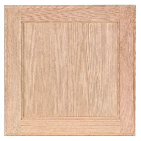 unfinished kitchen cabinet doors home depot 12 75x12 75 in cabinet door sle in unfinished oak 9544