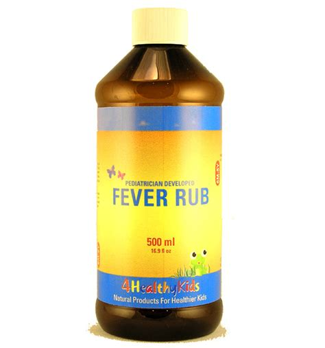 Fever Rub Infant Fever Remedy Sergei Shushunov Md