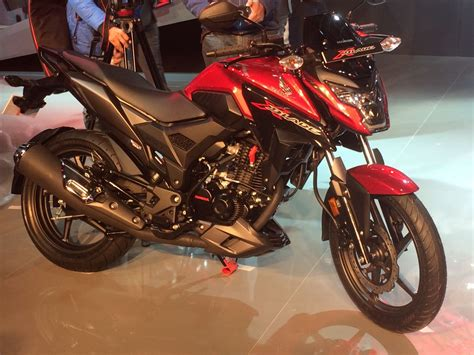 Honda Xblade 160cc Motorcycle Debuts At Auto Expo 2018