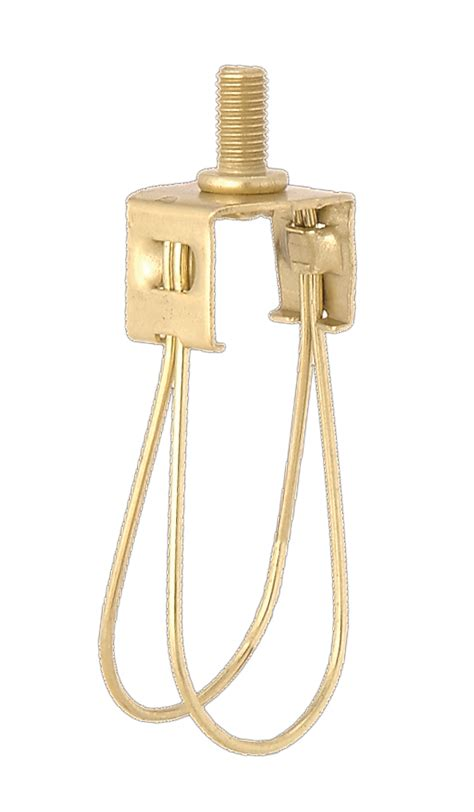clip on l shades for standard bulb brass finish washer to clip on adapter 22115 b p l supply
