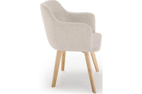 deco chambre romantique beige chaise scandinave tissu beige crush design sur sofactory