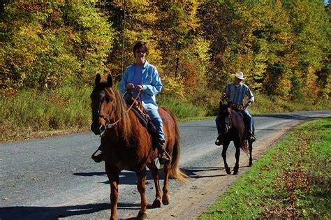 riding horseback rail trails trail county tioga traillink pine creek