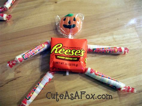 Quick Halloween Project Candy People