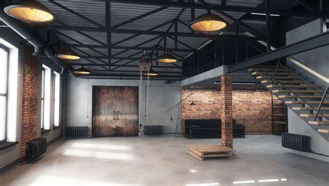 lamp  warehouse loft cgtrader