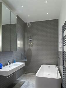 Moderne Wandgestaltung Bad : wandgestaltung bad 35 ideen f r badezimmergestaltung mit fliesen ~ Sanjose-hotels-ca.com Haus und Dekorationen