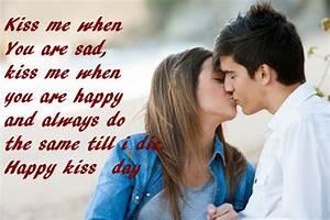 QuotesFocus - T... Kiss Day Romantic Quotes