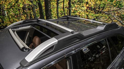 subaru outback roof rack legacy announced pricing system slides autoblog