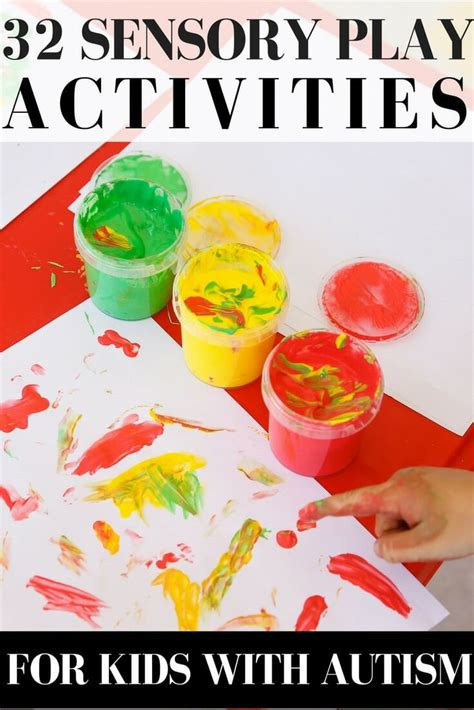 sensory activities for preschoolers with autism 32 sensory play activities for with autism 567