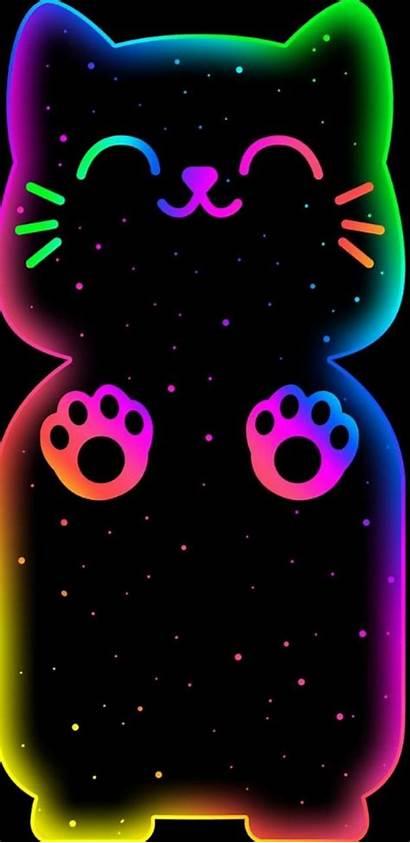 Pantalla Fondo Imagenes Fondos Kawaii Iphone Neon
