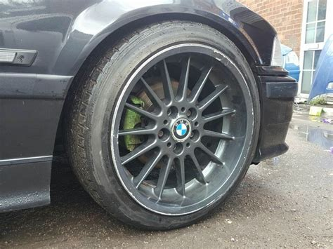 Bmw Style 32 Wheels by 18 Inch Genuine Staggered Bmw Style 32 Alloy Wheels And