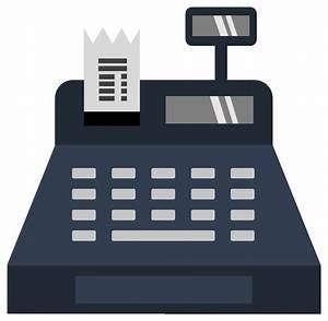 OnlineLabels Clip Art - Cash Register