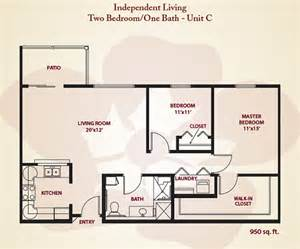 2 bedroom 1 bath floor plans apartment sizes and floor plans for stillwater ok