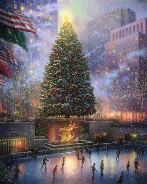 christmas in new york limited edition art the thomas
