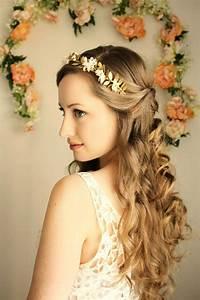 Goddess Flower Crown, Laurel Leaf Headpiece, Grecian Tiara ...