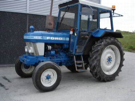 Used Ford Tractor 4610 Altimaskinerdk