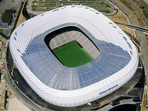 allianz arena high tech stadium  stunning
