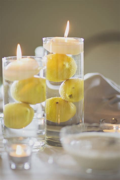 life   lemons   diy lemon centerpiece