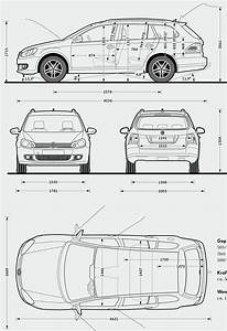 Dimension Polo 6 : volkswagen golf variant 28200929 model sheet blue print ~ Medecine-chirurgie-esthetiques.com Avis de Voitures