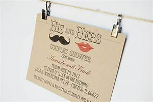 hipster wedding invitations his and hers couples shower With his and hers wedding shower invitations