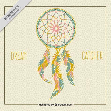 Dreamcatcher Template by Ornamental Catcher Background Vector