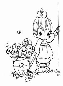 Precious Moments For Love Coloring Pages  U0026gt  U0026gt  Disney