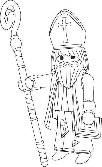 dessins de coloriage playmobil  imprimer