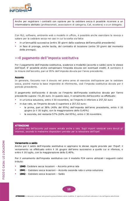 Ufficio Delle Entrate Bollo by Guida Fisco Casa E Locazioni Da Agenzia Delle Entrate