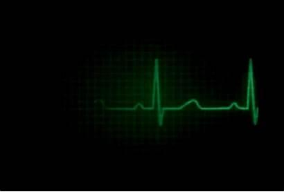 Heart Ekg Flatline Monitor Gifs Hospital Imagina