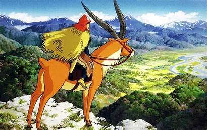 Miyazaki Hayao Wallpapers Ghibli Mononoke Desktop Anime