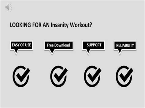 insanity workout   working links