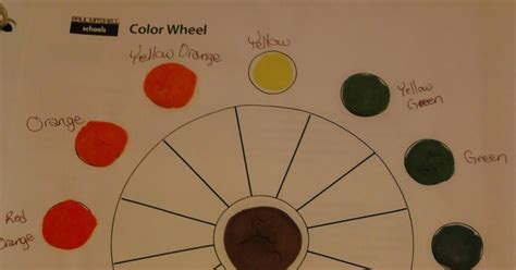 Day 10 Paul Mitchell (color Wheel, Abcds