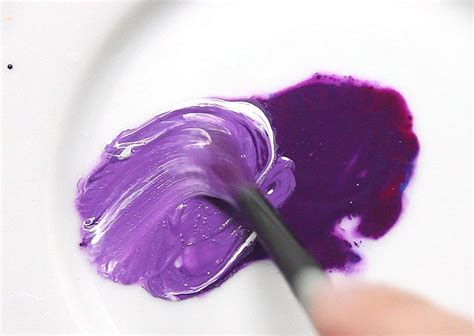 how to make purple color paint my web value