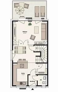 Schmale Häuser Grundrisse : interhomes ag doppelh user 6x11 doppelhaus klein mit garten pinterest haus grundriss ~ Indierocktalk.com Haus und Dekorationen