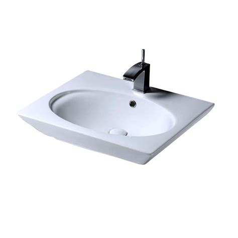 glacier bay petite aragon 8 3 8 in pedestal sink basin in